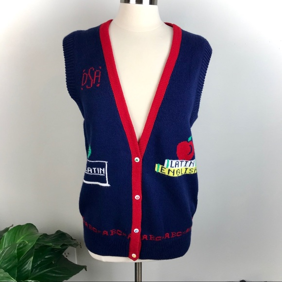 Sweaters - Beautiful I love Latin sweater vest